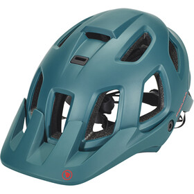 Endura SingleTrack II - Casco de bicicleta - negro/Azul petróleo